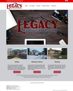 Legacy Exteriors and Roofing, one of the best roofing and siding companies in Edmonton.