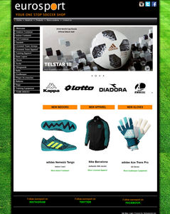Eurosport Soccer, your source for all soccer related equipment.