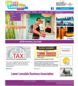 Lonsdale Business Improvement Association. A BIA based in Lonsdale.